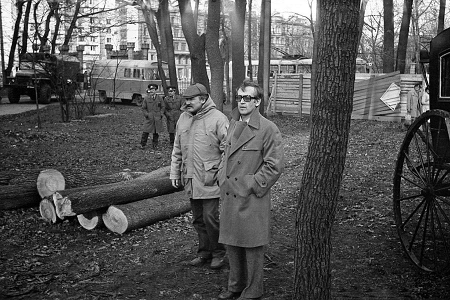 Василий Ливанов и Игорь Фёдорович Масленников. Шерлок Холмс и доктор Ватсон, 1979