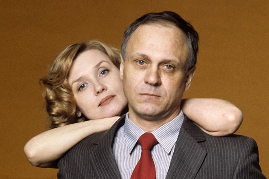 Владимир Меньшов и Вера Алентова. 1987 год