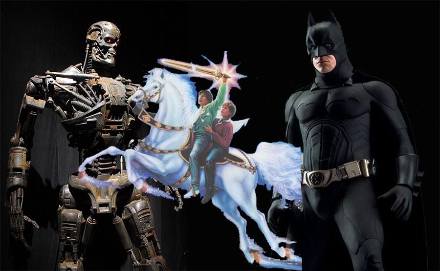 """Что объединяет Бэтмена и советскую сказку """"Мио, мой Мио"""""""