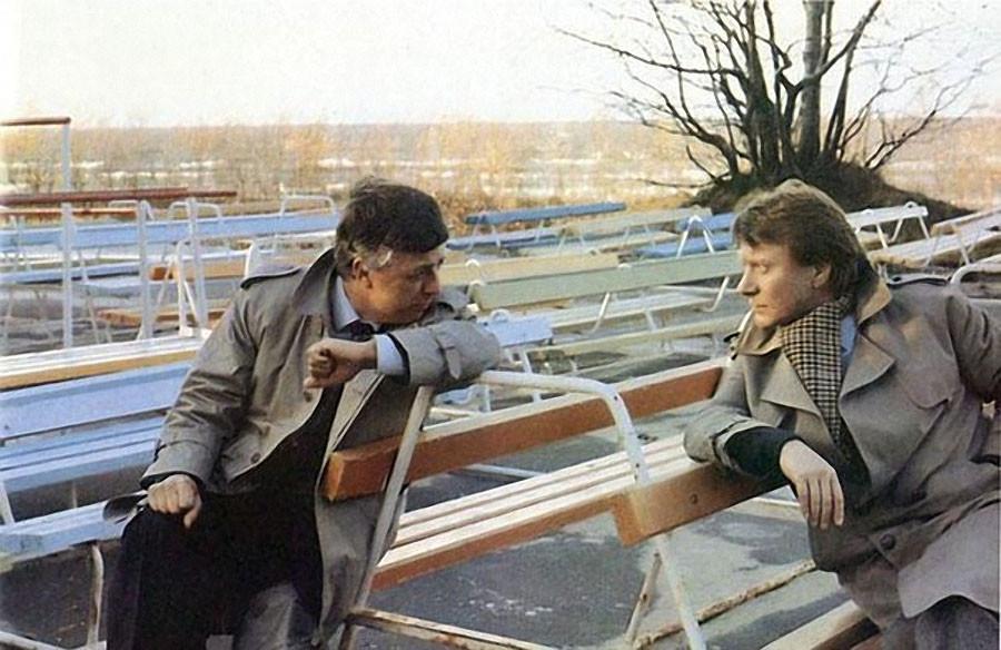 Раймонд Паулс и Андрей Миронов