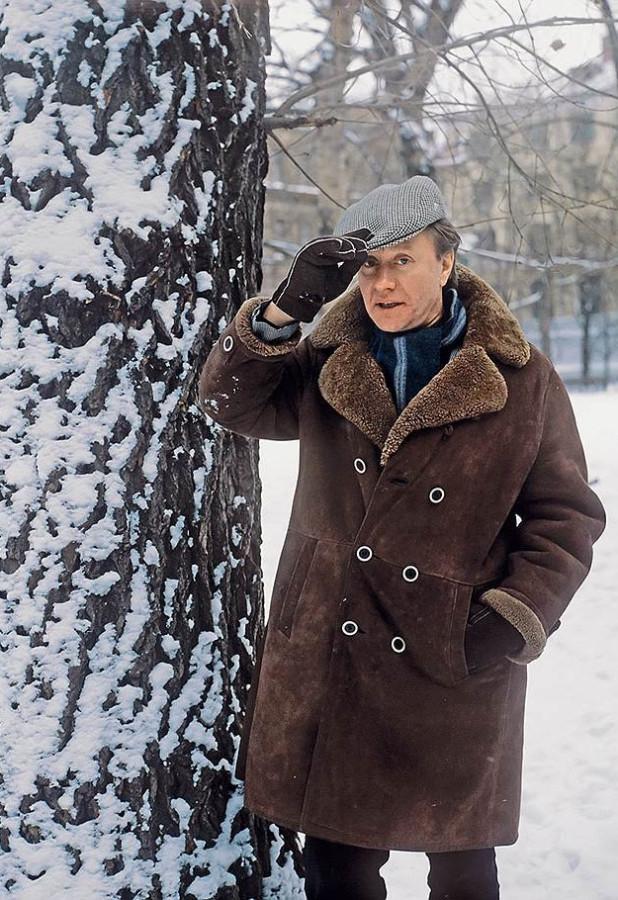 Андрей Миронов 1987 год, из архива журнала Огонёк