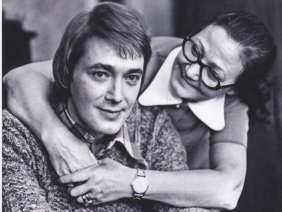 Игорь Старыгин с мамой
