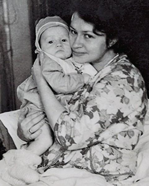 Дима Дибров с мамой Татьяной Валентиновной