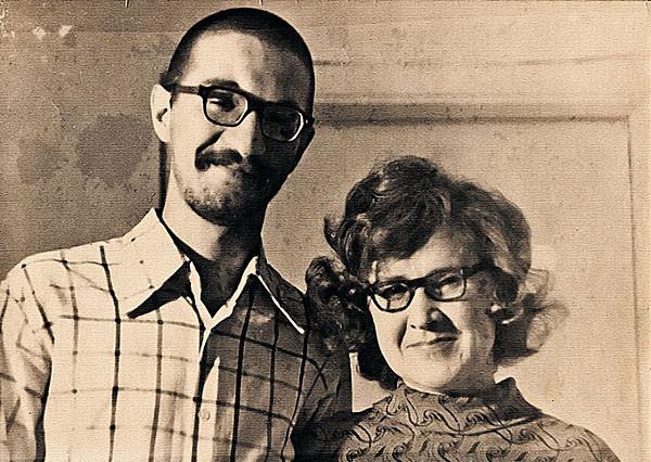 Юрий Шевчук с мамой