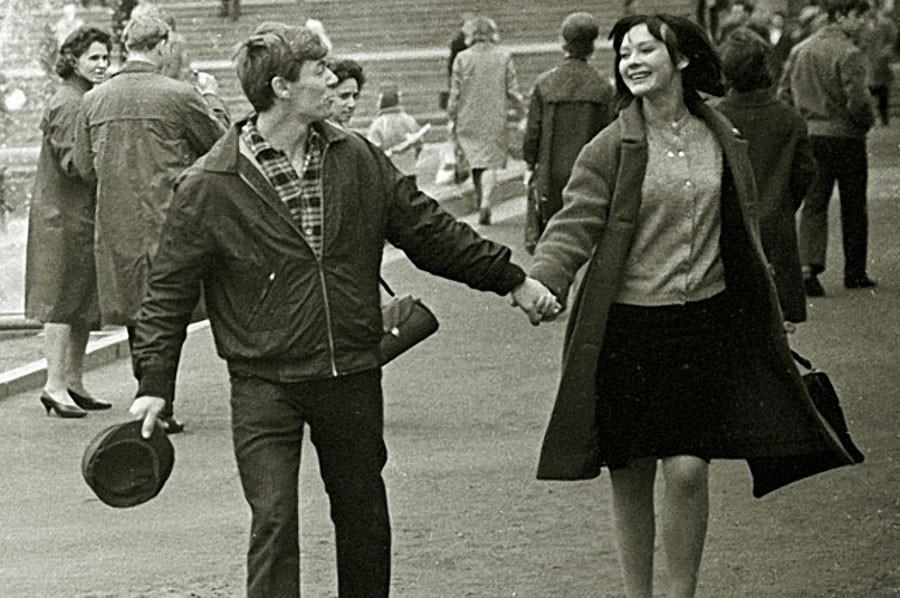 Александр Збруев и Людмила Савельева, 1966 год