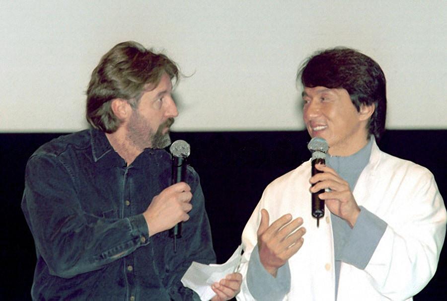Джеки Чан и Леонид Ярмольник, 2000 год