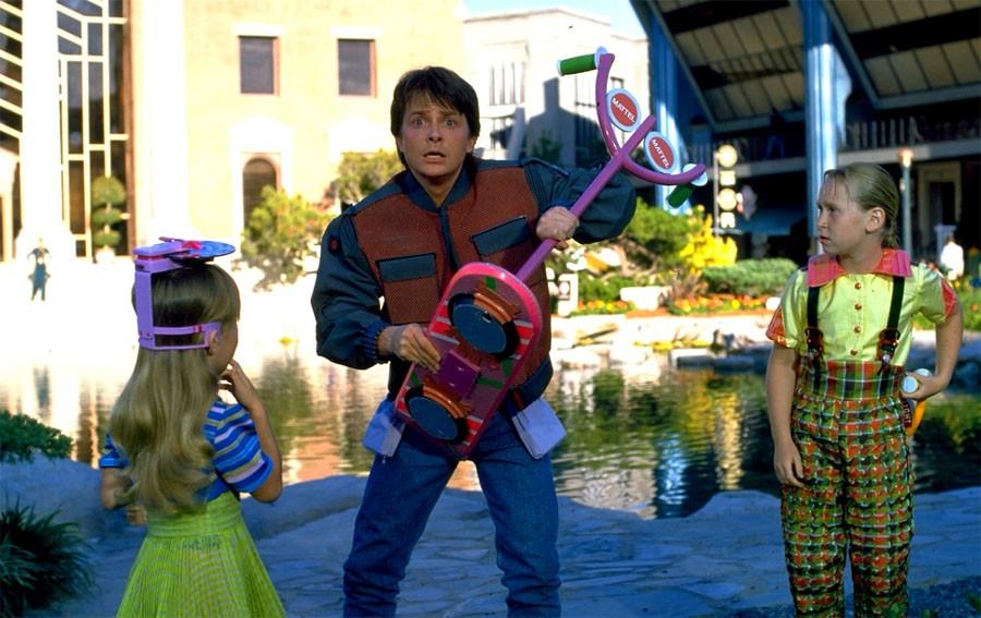 """Как снимали летающие скейты в """"Назад будущее 2"""""""