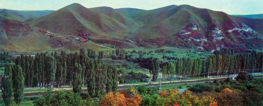 70-е Вид на Джинальский хребет