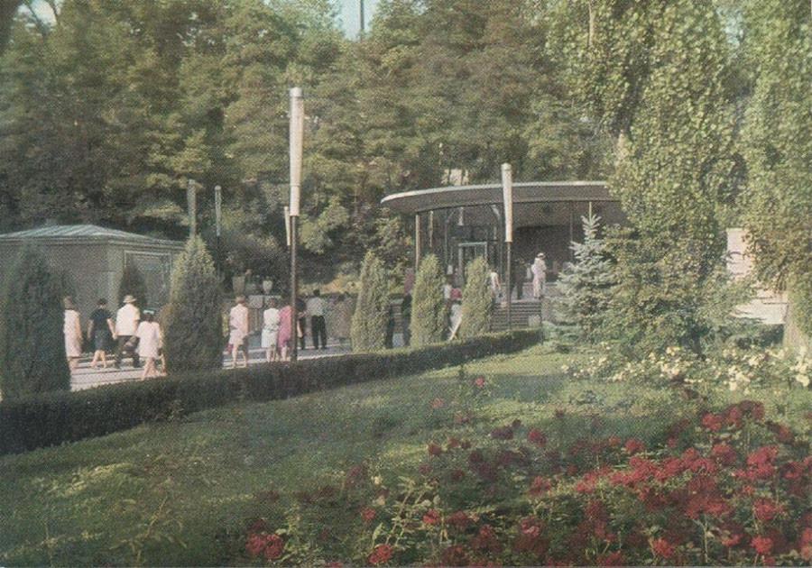 70-е Нарзанный каптаж