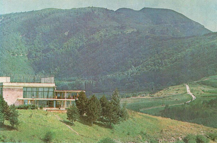 70-е Ресторан «Храм воздуха» в Кисловодском парке