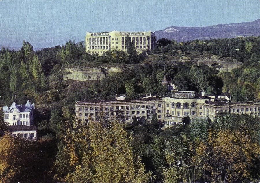 70-е Санатории «Россия» и им