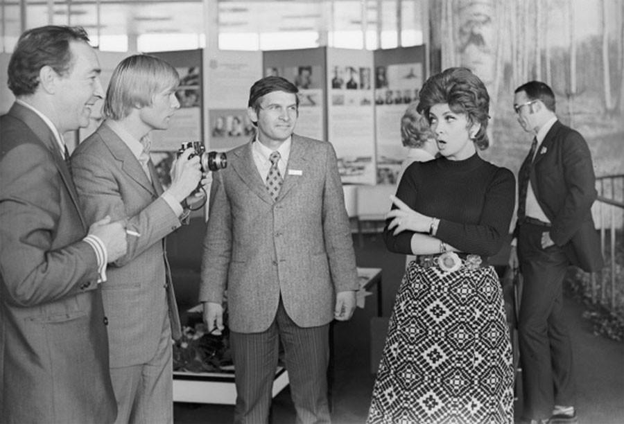 Джина Лоллобриджида, 1973 год