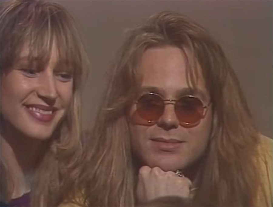 Кристина Орбакайте и Владимир Пресняков, 1992 год