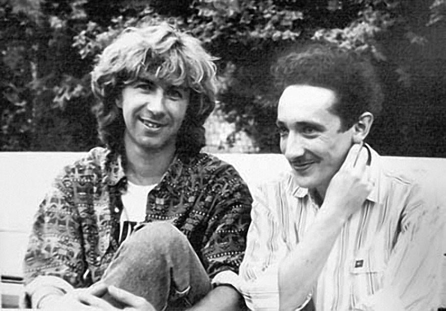 Валерий Сюткин и Евгений Хавтан. Август 1990 год