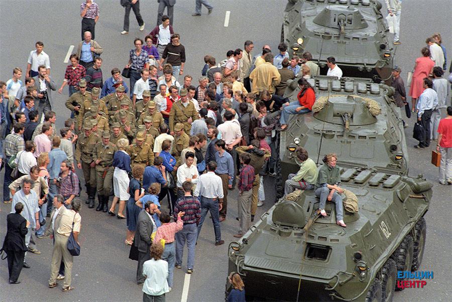 19 августа на Манежной площади