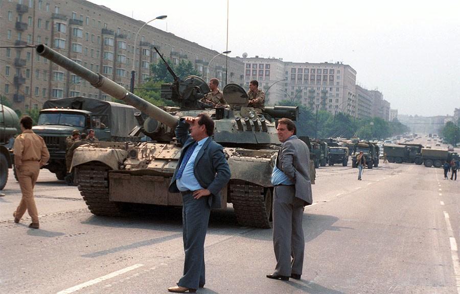 Военная техника на улицах Москвы Фото Олега Булдакова