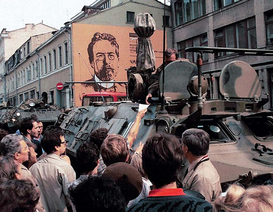 Военная техника на улицах столицы Фото Геннадия Хамельянина