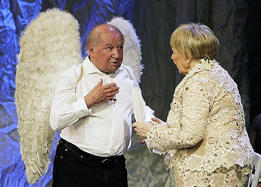 Лев Дуров и Ольга Аросева