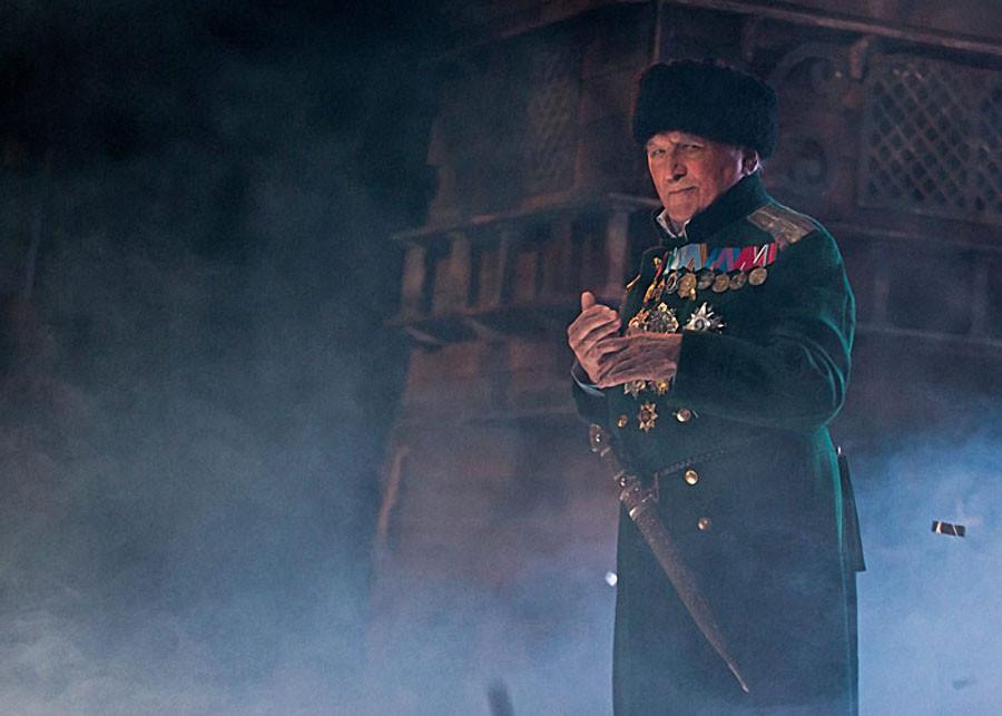 Лев Дуров на своем юбилейном вечере