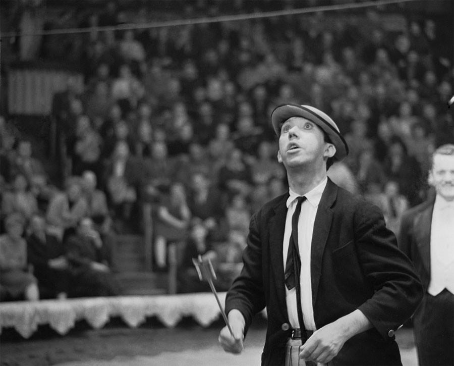 Клоун Юрий Никулин 9 ноября 1963 года