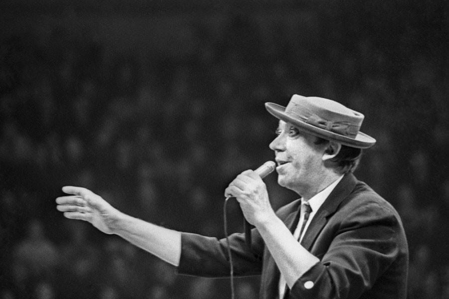 На арене Юрий Никулин 29 марта 1971 года