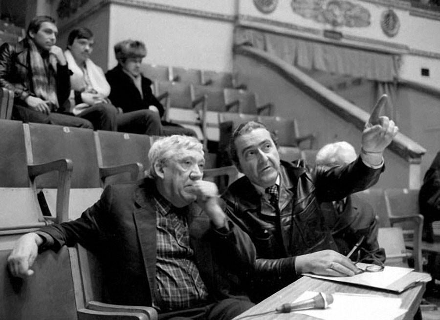 Юрий Никулин готовит новую цирковую программу 1984 год