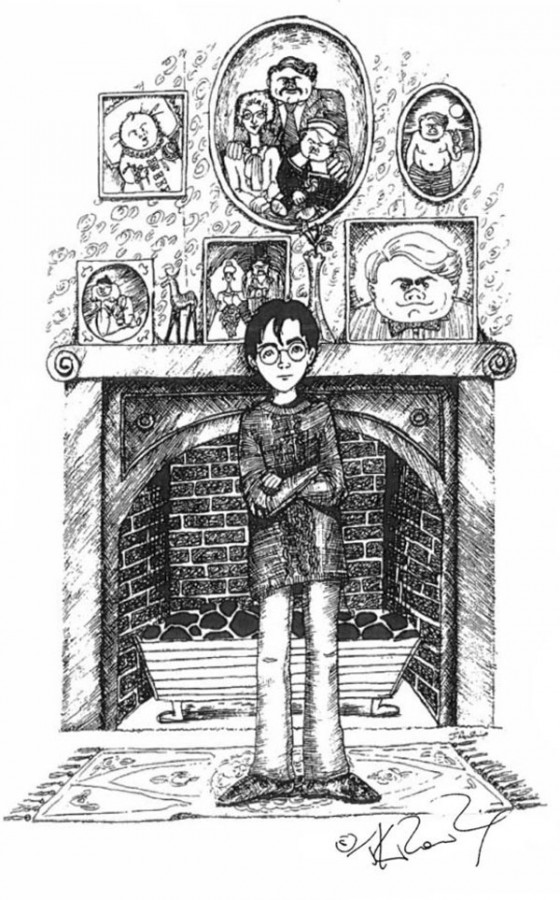 Как изначально должен был выглядеть Гарри Поттер