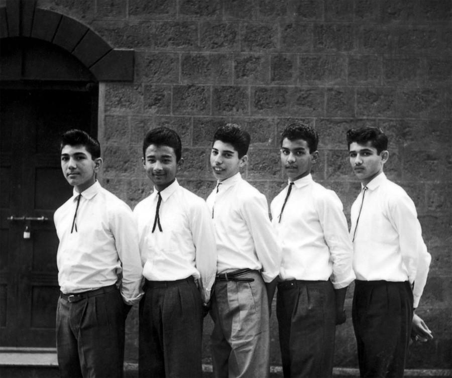 группа The Hectics, 1958 год