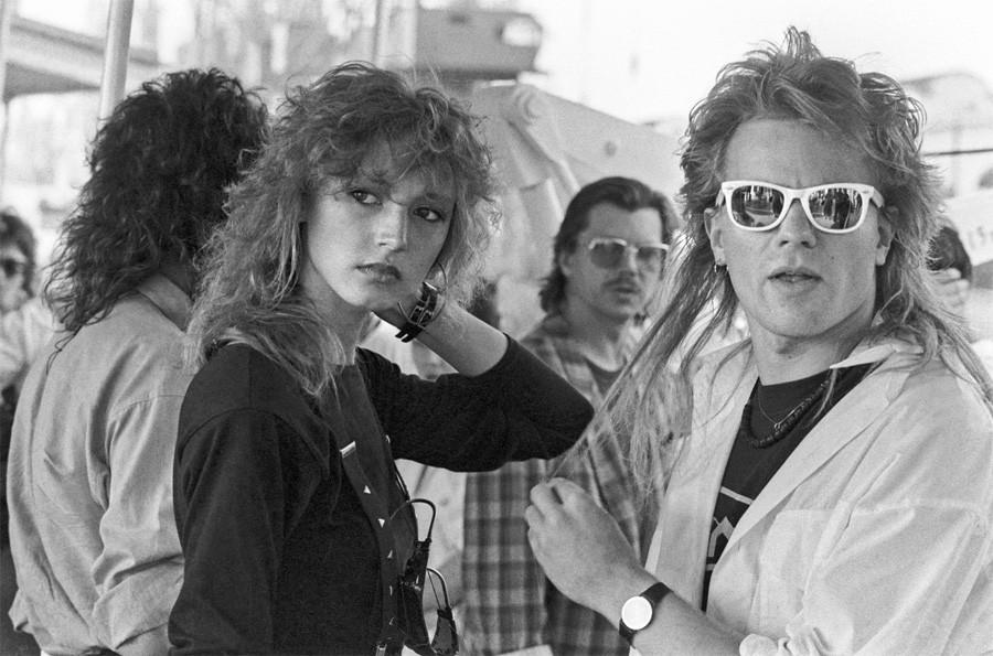 Кристина Орбакайте и Владимир Пресняков-младший 1988 год