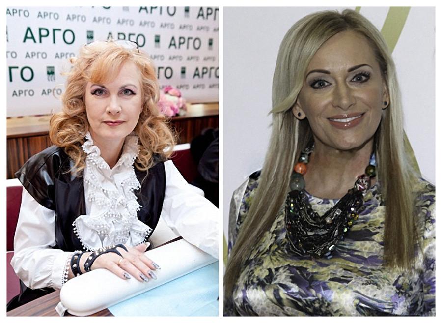 Светлана Разина и Наталья Гулькина