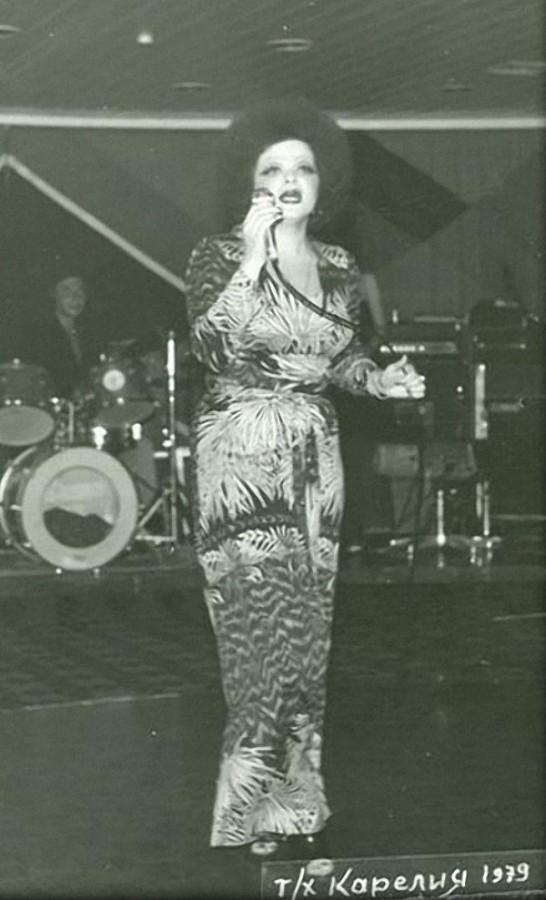 Лариса Долина 1979 год