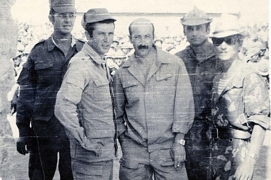 Александр Розенбаум в Афганистане