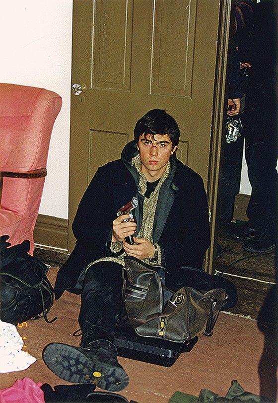 Сергей Бодров на съемках фильма «Брат 2»