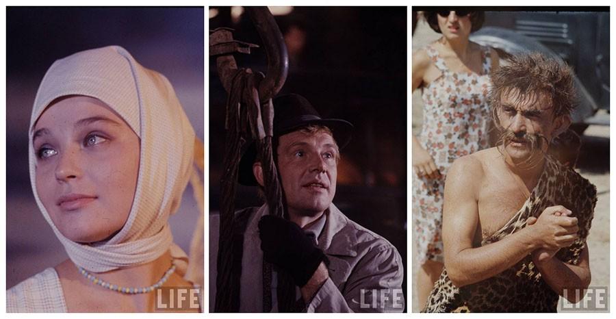 Советские актёры в журнале LIFE, 1967 год