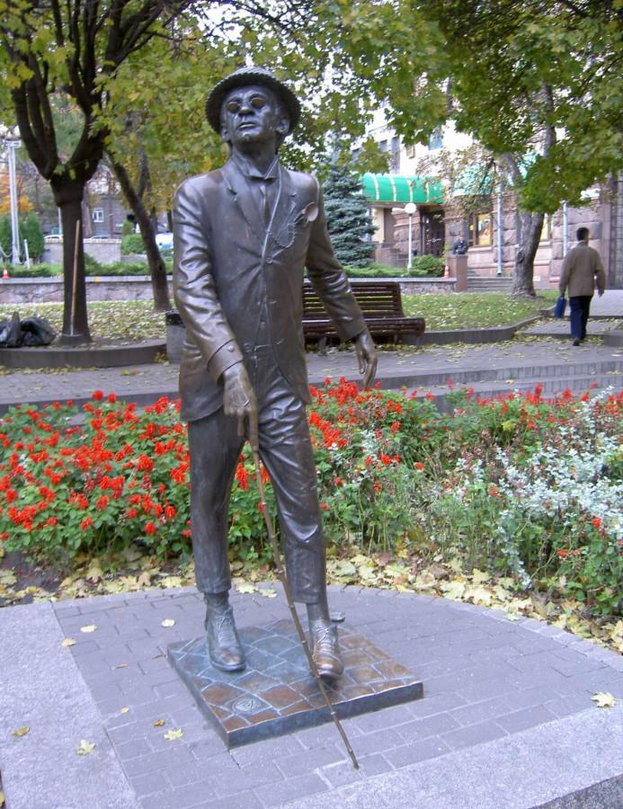 28 Памятник Паниковскому Киев