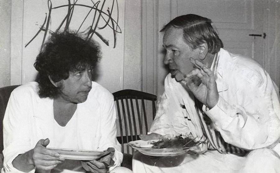 Западные звезды в СССР: Боб Дилан и поэт Андрей Вознесенский - dubikvit — LiveJournal