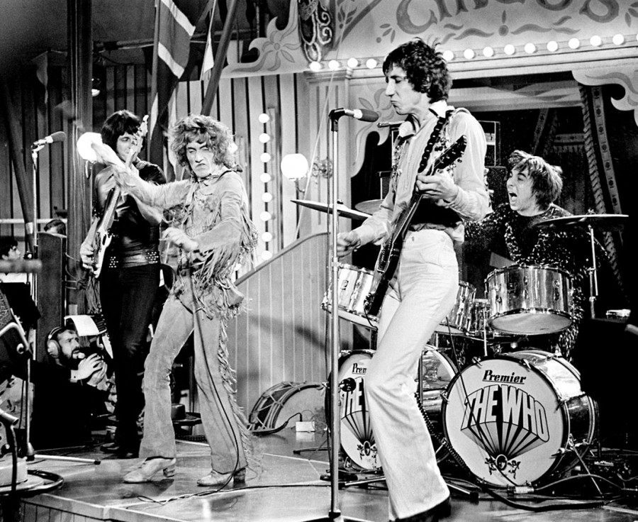 111 The Who photographed at The Rolling Stones Rock And Roll Circus (December 11-12, 1968)