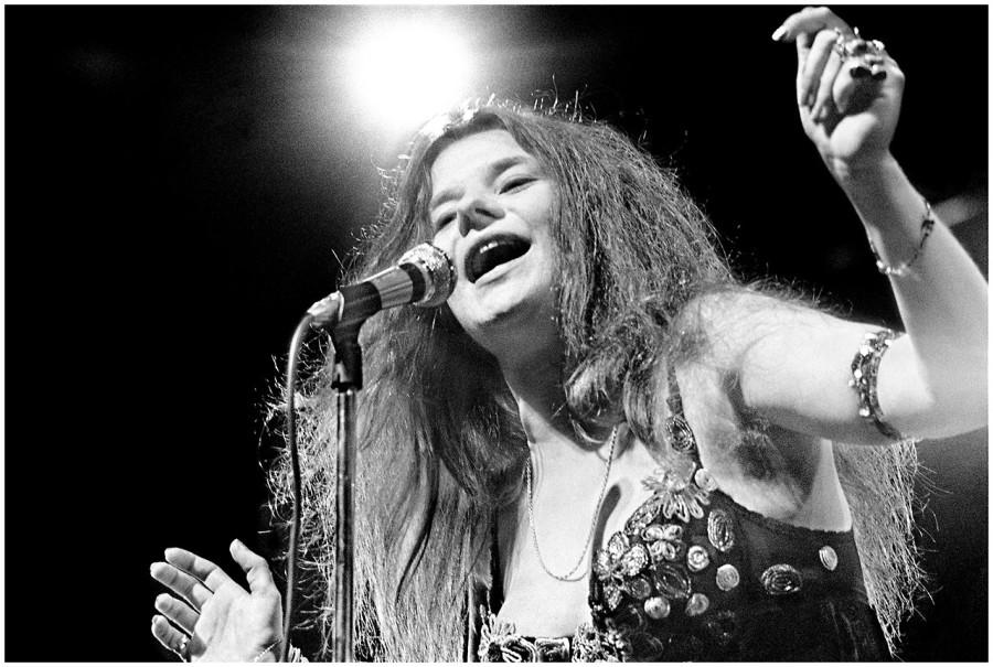 113 Дженис Джоплин - Род-Айленд - фото Элиот Лэнди - 1968