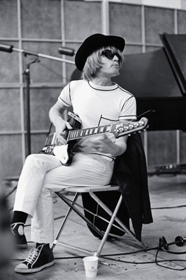 119 Mr. Brian Jones of The Rolling Stones in the studio, 1965