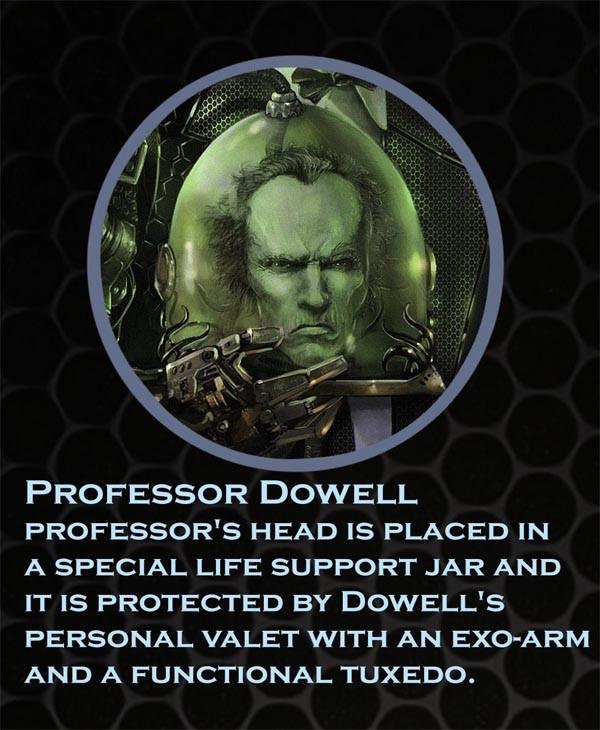 Профессор Доуэль