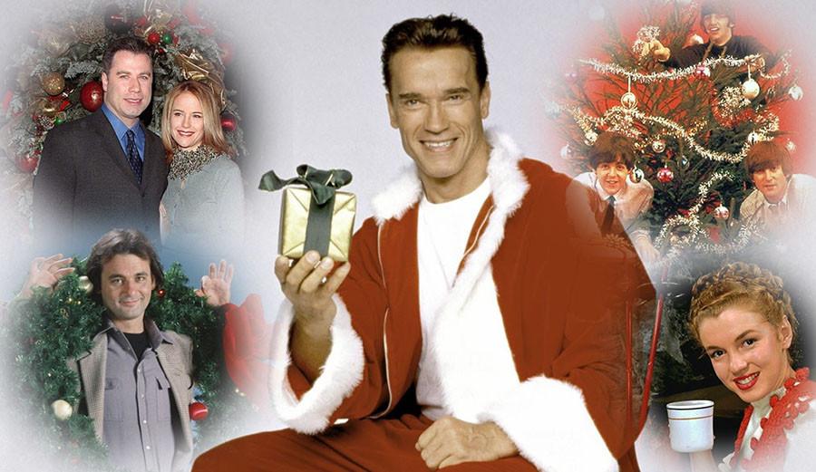 Новогодние и рождественские фото знаменитостей