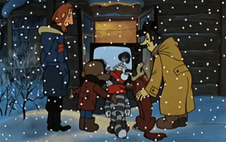 новогоднее телевидение