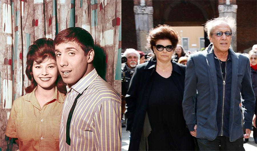 Адриано Челентано и Клаудии Мори. Роман длиной 55 лет