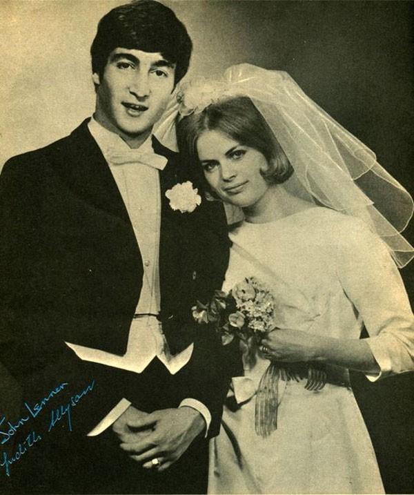 Джон и Синтия Леннон