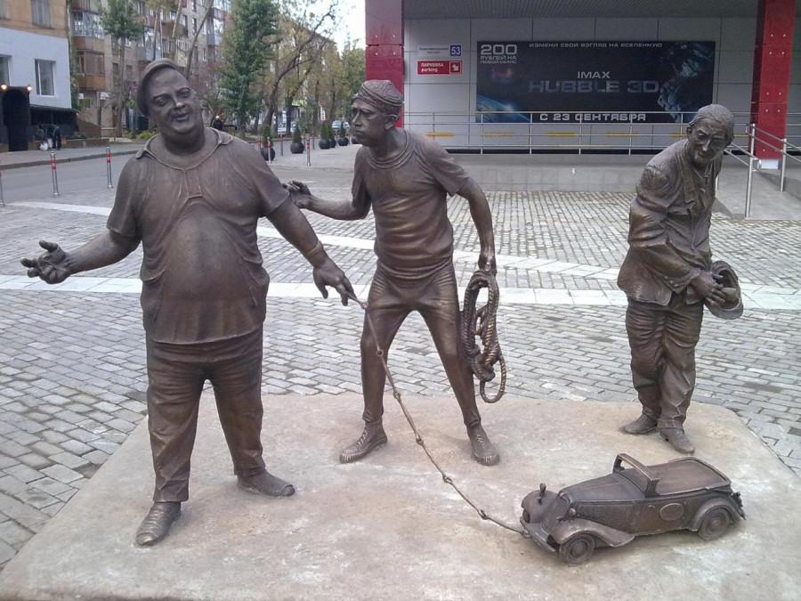 43 Памятник Трусу, Балбесу и Бывалому в Перми
