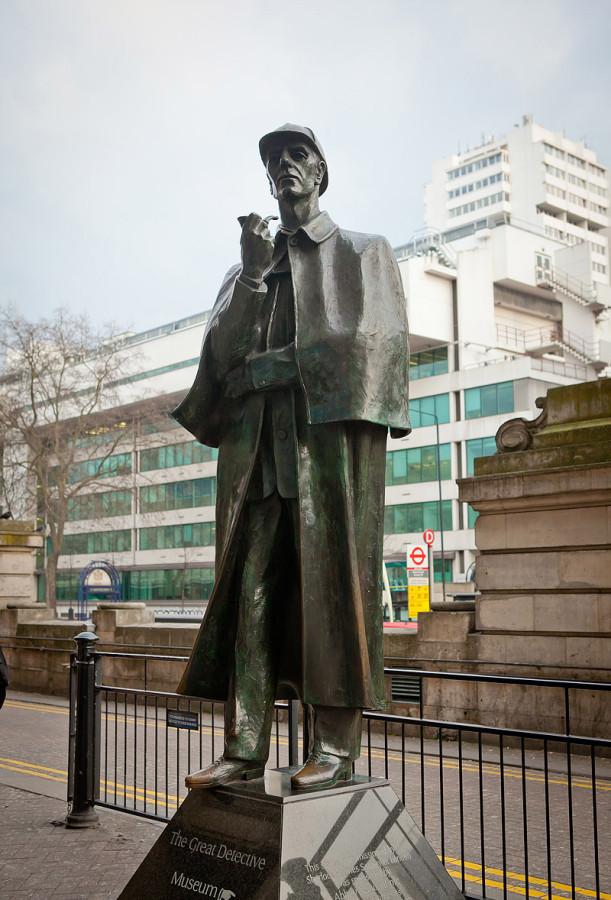 59 Памятник Шерлоку Холмсу в Лондоне