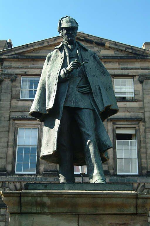 60 Памятник Шерлоку Холмсу в Эдинбурге