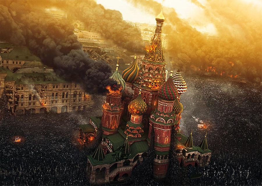 """Зомби-апокалипсис в Москве или альтернативная концовка """"Война миров Z"""""""