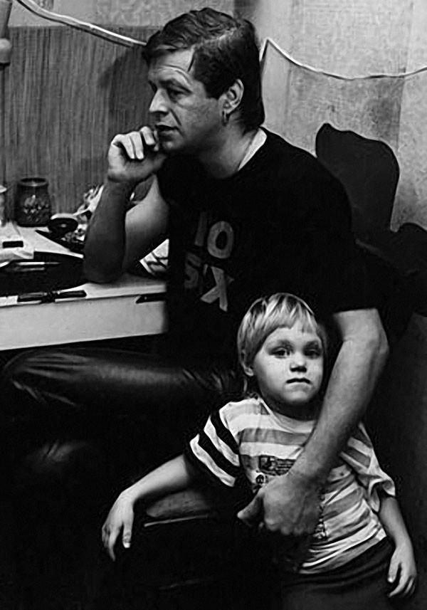 Борис Гребенщиков с дочерью