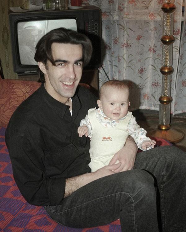 Вячеслав Бутусов с дочерью Ксенией